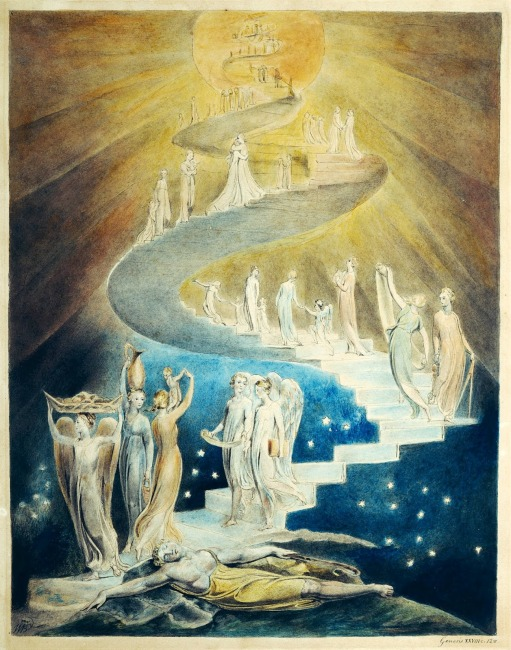 Escalera de Jacób | William Blake